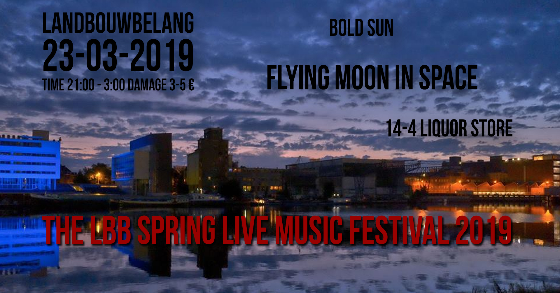 23 03 2019 FLYING MOON IN SPACE